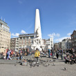 The monument on the Dam in Amsterdam the Netherlands — Stock Photo #11245549