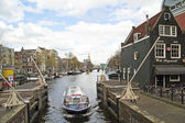City view from Amsterdam in the Netherlands — Стоковое фото