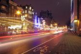 Nightlife in Amsterdam — Stock Photo