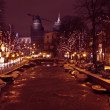 Stock Photo: Christmastime in Amsterdam Netherlands