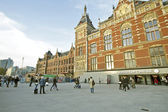 Central Station in Amsterdam the Netherlands — Stock Photo