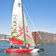 Ishares-cup world final extreme catamaran race - Stock Photo