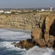 Rocky coast near Lagos in Portugal — Stock Photo