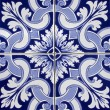 Tile pattern in blue and white — Stock Photo #11445997