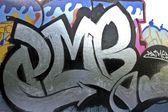 Graffiti on wall — Stock Photo