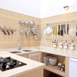 Modern new kitchen interior — Stock Photo