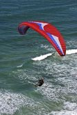 Paragliding — Stockfoto