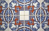 Tile pattern in Portugal — Stock Photo