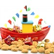 Stock Photo: Steamboat from santclaus
