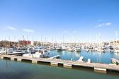 Hafen von lagos in portugal — Stockfoto