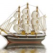 Stock Photo: Traditional sailing ship from the Netherlands