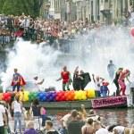 Gay Pride weekend — Stock Photo