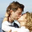 Couple in love at the beach — Stock Photo #11498802