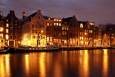 City scenic from Amsterdam in the Netherlands — 图库照片