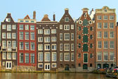 City scenic from Amsterdam in the Netherlands — Stock Photo