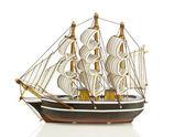 Tradiční loď z nizozemska — Stock fotografie