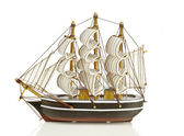 Traditional sailing ship from the Netherlands — Stock Photo