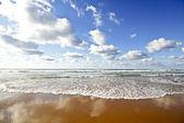 Beautiful cloudshape at the atlantic ocean in Portugal — Stock Photo
