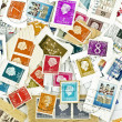 Postage stamps - Foto Stock