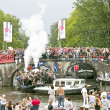 Floats participate in Canal Parade on Gay Pride weekend — Stock Photo #11504374