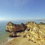 Постер, плакат: Rocks at Praia da Rocha near Portimao in Portugal