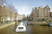 Cityscenic from Amsterdam in the Netherlands — Stock Photo