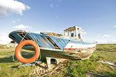 Um naufrágio na baía de lagos portugal — Foto Stock