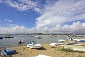 Porto de lagos, no algarve em portugal — Fotografia Stock
