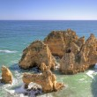 Beautiful southcoast near Lagos in Algarve Portugal — Stock Photo #11515406