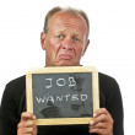 Desperately Job Wanted — Stock Photo