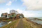 Ampia vista al lago ijsselmeer — Foto Stock