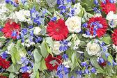 混合用朵朵鲜花花束 — 图库照片