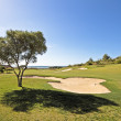 Stock Photo: Golf course in the Algarve Portugal
