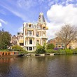 Medieval building in Amsterdam Netherlands — стоковое фото #12167305