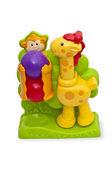 Baby Toys Giraffe and monkey — Stock Photo
