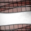 Filmstrip vector background - Stock Vector