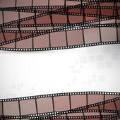 Filmstrip vector background — Stock Vector