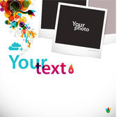 Creative graphic layout — Stock Vector