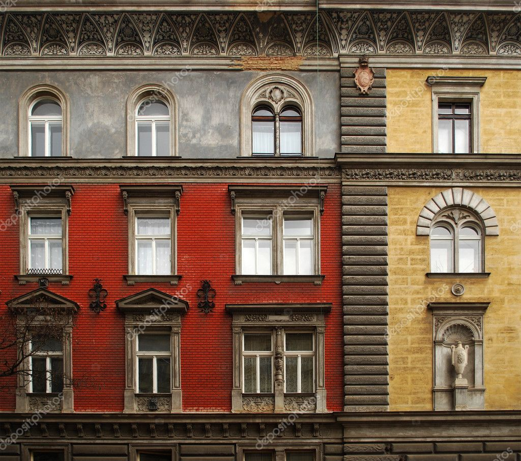 Facade of old building stock photo radoma 11242333 Building facade pictures