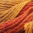 Stock Photo: Warm orange wool scarf