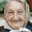 Portrait of an old woman — Stock Photo #11142984