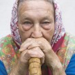 Portrait of an old woman — Stock Photo #11142990