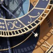 Detail of astronomical clock, prague - Stock Photo