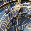 Stock Photo: Detail of astronomical clock, prague