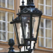 Traditional gas lamp of the old town, prague — Stock Photo