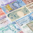 Banknotes of different countries — Stock Photo #11146244