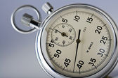 Close-up of a stopwatch — Stock Photo