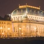 Prague, national theater — Stock Photo