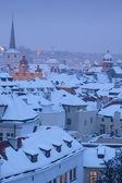Prag, kış — Stok fotoğraf