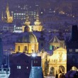 Stock Photo: Prague - spires of the old town